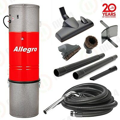 Allegro Central Vacuum System 35' ft Hose Kit New in Box Built in Vac