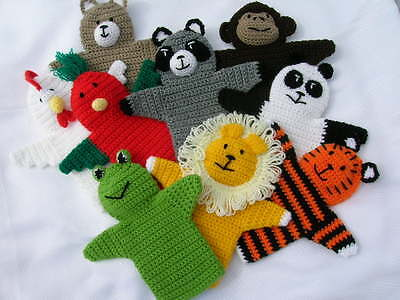 Crochet toy puppet - handmade in Australia - Knitted and Crochet Toys & Gifts