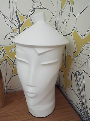 RARE Vintage 80's Black Matt Wall Mannequin SIGNED BY LINDSEY B