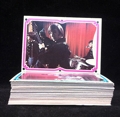 """MONKEES 1967 Complete Set of 44 """"C"""" Series Trading Cards"""