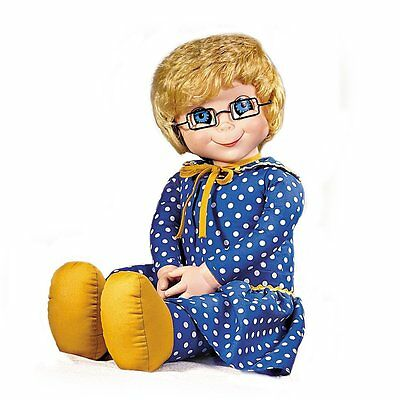"""Collectible Family Affair TV Show Mrs. Beasley 20"""" Pull String Replica Doll NEW"""