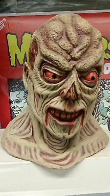Rare Fright Factory Outlet Zombie monster Mask horror