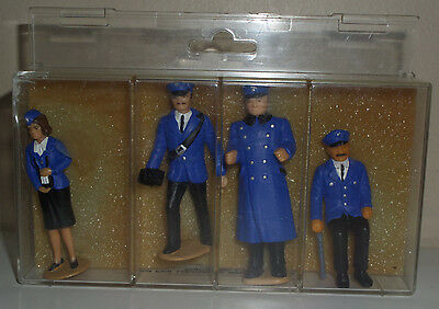 Lgb 5440 Train Personnel Figures - Engineer/driver/conductors *g-Scale* New