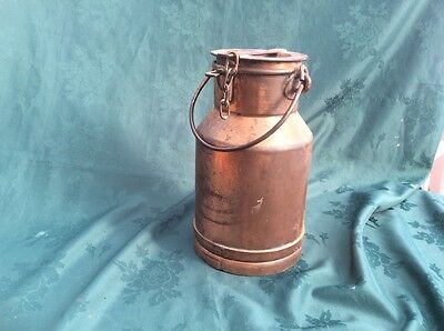 Old vintage Copper Milk Churn / Cream Churn