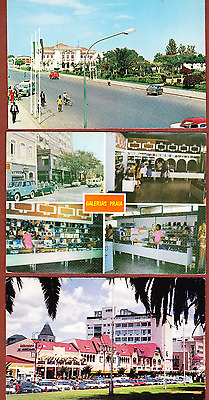 Set Of 3 Africa Postcards Jeep Car Land Rover , Namibia, Cape Verde, Angola