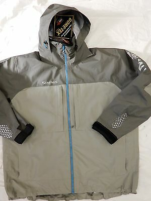 SIMMS XXL Gore-Tex NWT fishing jacket men's Contender Jacket Gunmetal