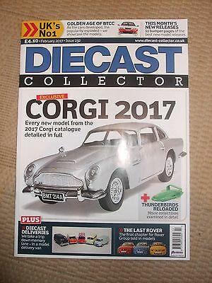 Diecast Collector magazine February 2017