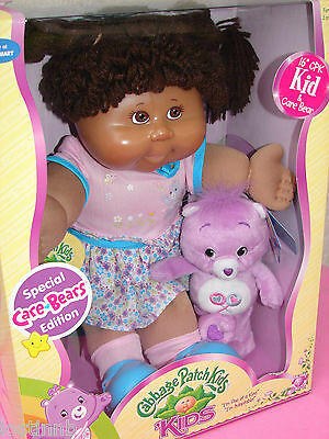 """NEW Box Doll 16"""" PAMELA DOLLY 7/19 CARE BEAR Special Ed PA Cabbage Patch Kid CPK"""