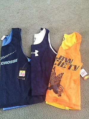Nike Flow Society & Under Armour Lacrosse Pinnie S/M