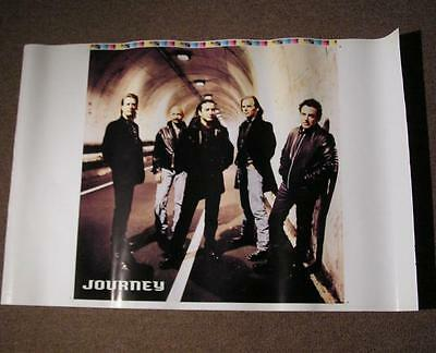 JOURNEY Trial By Fire Original VERY RARE Never Cut Promo Poster Printer's Proof