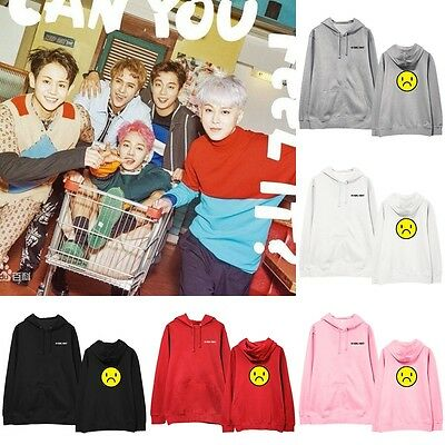 Kpop HIGHLIGHT Cap Hoodie JunHyung Sweatershirt Pullover Sweater Coat Unisex