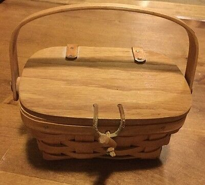 LONGABERGER PURSE with Hinged Lid - So Cute!
