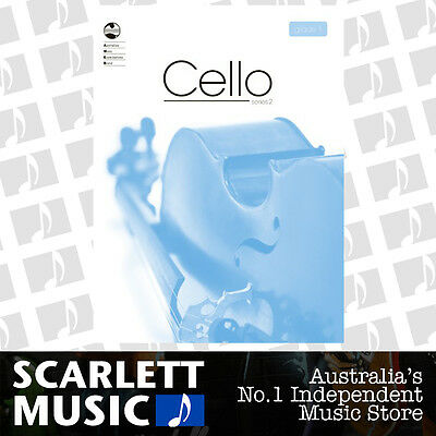 AMEB Cello Series 2 (Two) - Grade 1 ( One / First ) *BRAND NEW*
