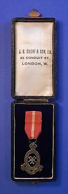 British Territorial Army Nursing Service Medal Cased                      Ab0378