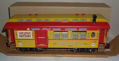 Aristocraft G-Scale 107 United American Circus Combined Car Boxed