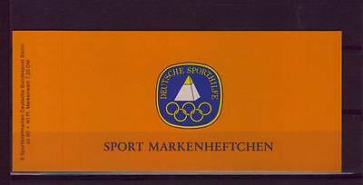 74274) Berlin Sportmarkenheft Basketball Olympiade