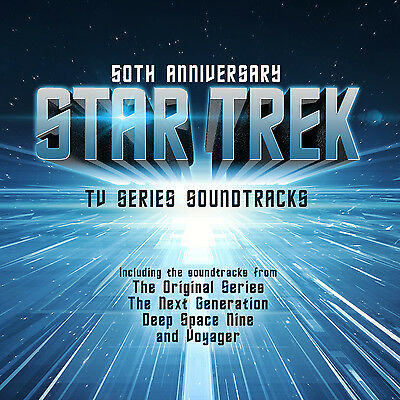 LP Vinyl Star Trek 50 Anniversary-TV Series Soundtracks 2LPs