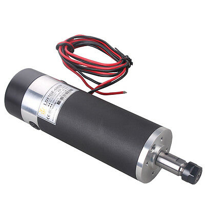 600W DC24V-110VDC High-speed Air-cooled Spindle Motor for Engraving Milling