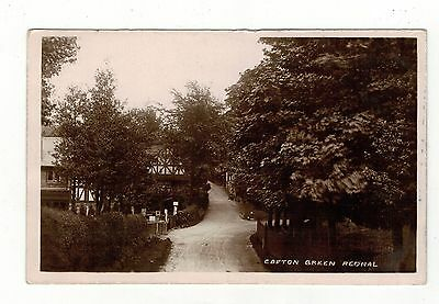 Crofton Green.rednal Old Real Photo Postcard