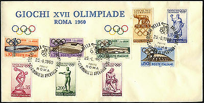 Italy 1960 Olympic Games Cover #C41172