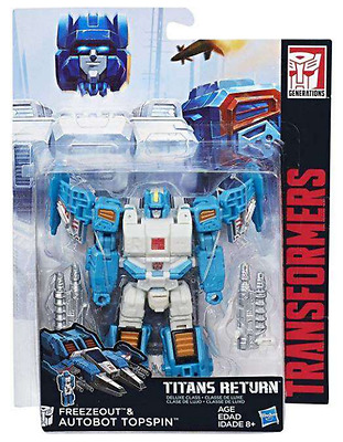 Transformers Titans Return Deluxe Class Autobot Topspin