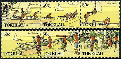 Tokelau 1989 SG#171-176 Food Gathering MNH Set #D49888