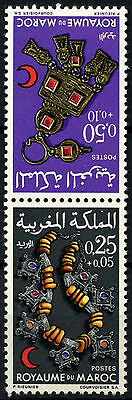 Morocco 1970 SG#287-8 Jewellery MNH Set #D49393