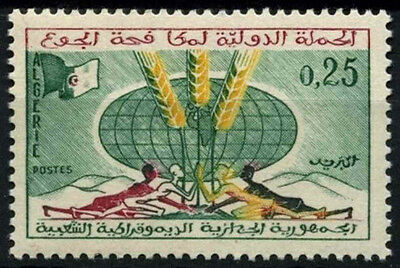 Algeria 1963 SG#409 Freedom From Hunger MNH #D49332