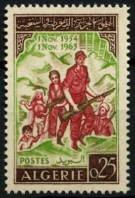 Algeria 1963 SG#418, 9th Anniv Of Revolution MNH #D49337