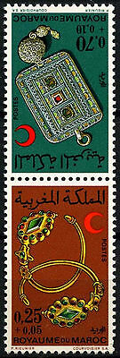 Morocco 1969 SG#274-5 Jewellery MNH Set #D49392
