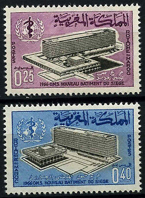 Morocco 1966 SG#180-1 Who Headquarters MNH Set #D49382