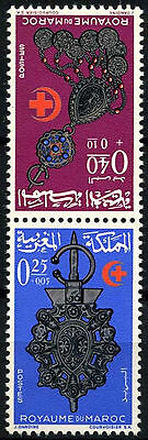 Morocco 1966 SG#185-6 Jewellery MNH Set #D49372