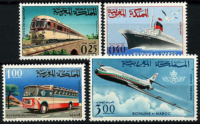 Morocco 1966 SG#190-3 Transport MNH Set #D49370