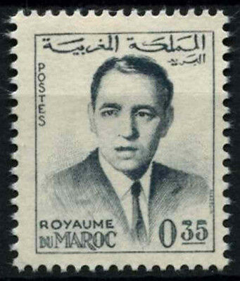 Morocco 1962 SG#117a 35f King Hassan II Definitive MNH #D49377
