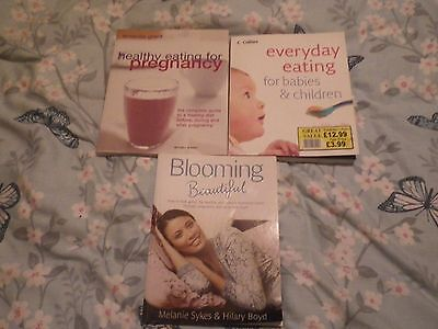 Pregnancy books x 3