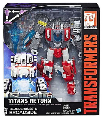 Transformers Titans Return Voyager Class Autobot Broadside