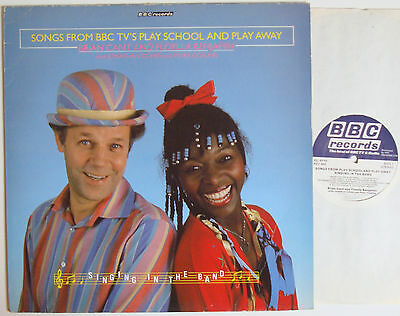"""Singing In The Band Songs From BBC TV's Play School And Play Away (7198) 12"""" LP"""