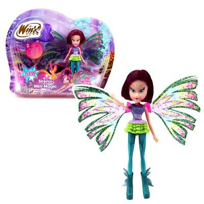 Winx Club - Sirenix Mini Magic Puppe - Fee Tecna mit Verwandlungsfunktion