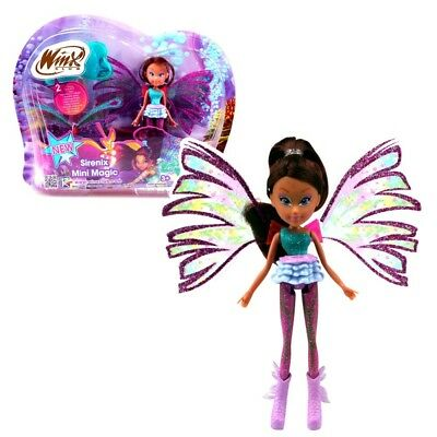 Winx Club - Sirenix Mini Magic Puppe - Fee Layla mit Verwandlungsfunktion