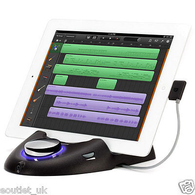 Griffin StudioConnect - use iPad 1 2 3 as MDI Controller Studio Garageband NEW