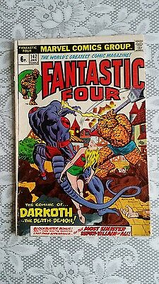 Fantastic Four  No.142  JAN  1974   FREE POSTAGE UK
