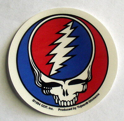 """Grateful Dead Steal Your Face 2 1/2"""" Mini Decal Sticker SYF Stealie"""