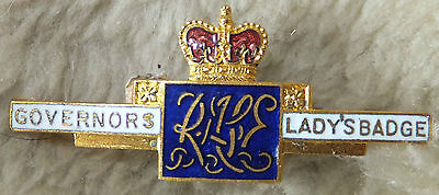 Vintage Badge Governors Lady's Badge  Royal Agricultural Society of England