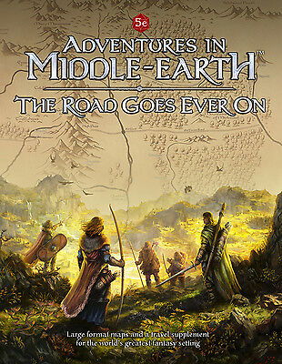 D&D 5th edition RPG: Adventures in Middle-Earth PRESALE The Road Goes Ever On Ne