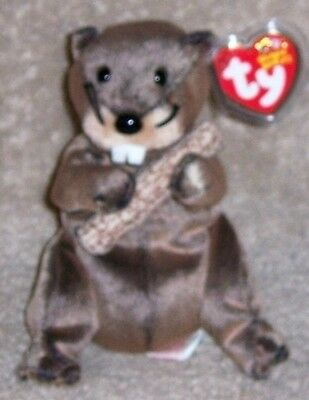 LUMBERJACK Ty Beanie Baby MINT WITH MINT TAGS
