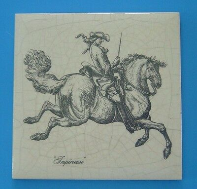 Dressage Horses Coasters  historic Illuminata Gladiateur Impereuse Mahmoud
