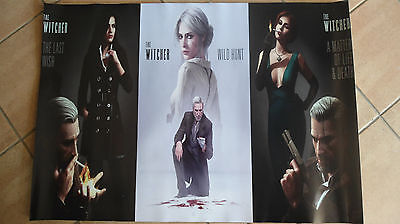 Poster the witcher 3 - noir OCCASIONE