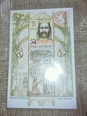 2016 Repubblica Ceca Errore  Charles Iv Czech Republic 2016 Mint