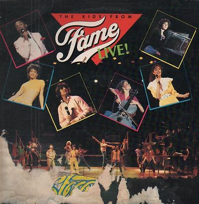 The Kids From Fame Live! STILL SEALED NEW OVP RCA Victor Vinyl LP