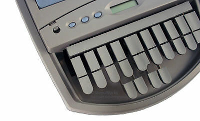 Steno Writer Soft Grey Leather Keytop Covers Free US Shipping
